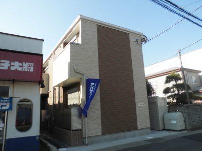 北小金徒歩7分の新築1Kアパート!!!!